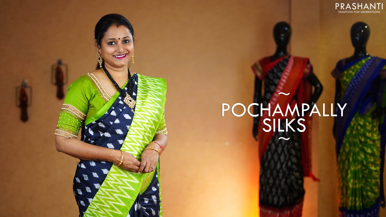 Prashanti. <br> Contact : support@prashantisarees.in.