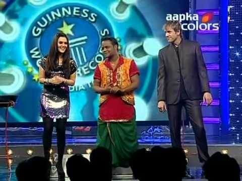 Guiness World records Ab India Todega 25th March HQ XviD 1 clip2