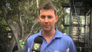 Cricket insight with Brett Lee, Adelaide