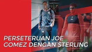 Sorakan Fans Inggris untuk Joe Gomez karena Perseteruannya dengan Raheem Sterling
