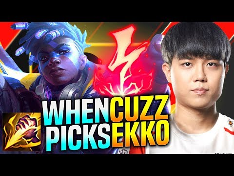 WHY is EKKO JUNGLE so STRONG? - T1 Cuzz Plays Ekko vs Kindred Jungle!   KR SoloQ Patch 9.24
