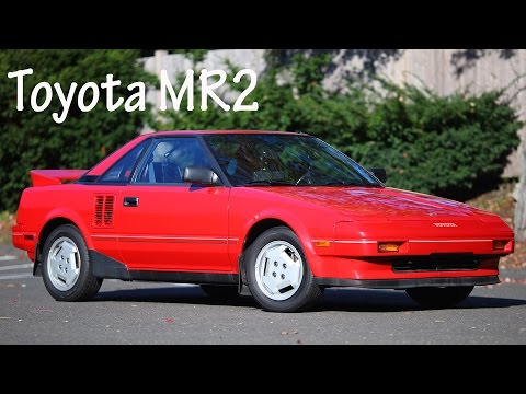 1986 Toyota MR2 review