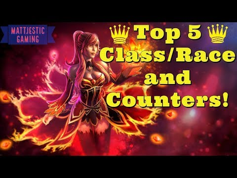 Auto Chess Top 5 Race/Class Counters and Their Counters