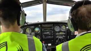 preview picture of video 'PA-28 Back Seat Flight from Liverpool Airport'