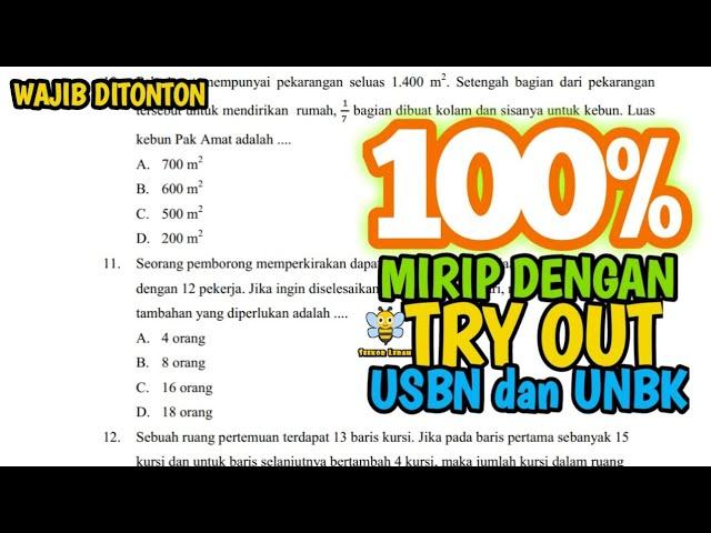100% TRY OUT, USBN, DAN UNBK AKAN SEPERTI INI (1)
