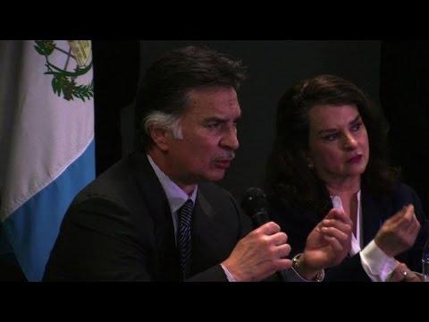 L'ex-président Alfonso Portillo de retour au Guatemala