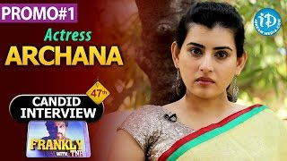Actress Archana Exclusive Interview  Promo 1  Frankly With TNR 47  Talking Movies With IDream