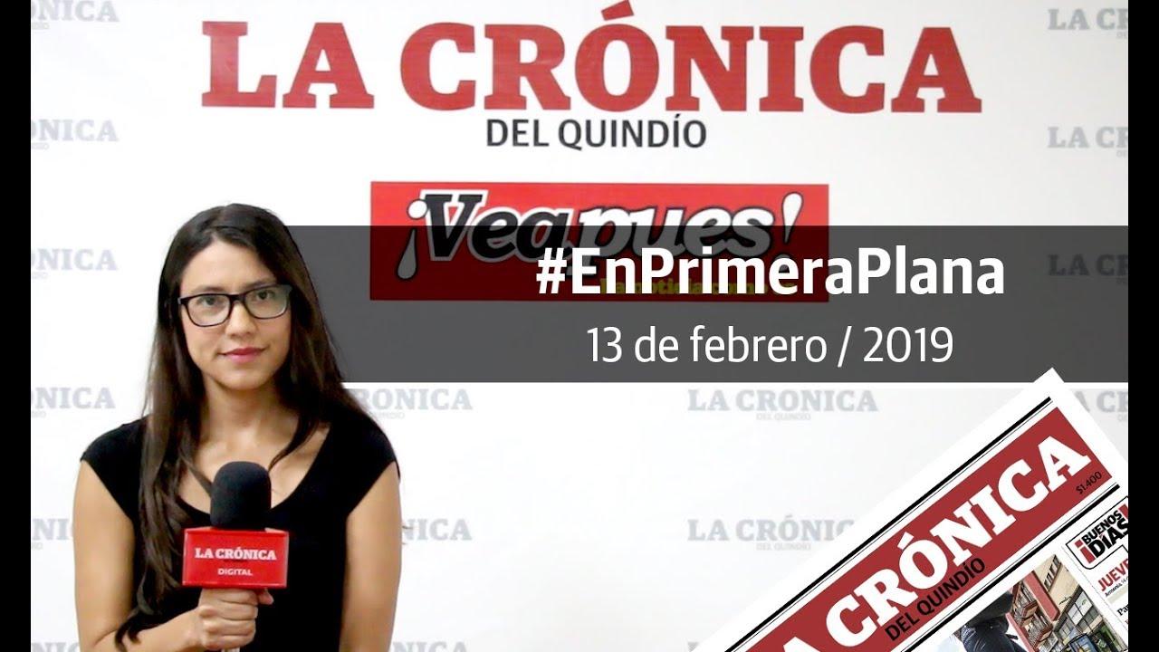 En Primera Plana: lo que será noticia este jueves 14 de febrero