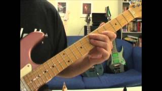 Doug Steele: Dokken Jaded Heart guitar solo played slower