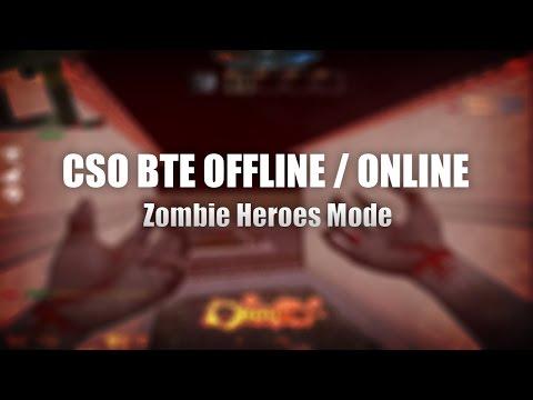 Counter Strike BTE Zombie Hero Offline/Online - War with BOTS...