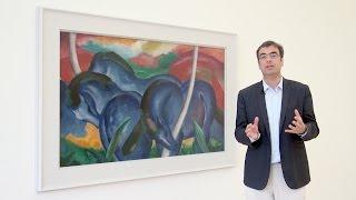 Blaue Pferde - Kandinsky, Marc & Der Blaue Reiter