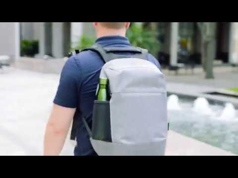 "12""-15.6"" CityLite Pro Security Backpack - video"