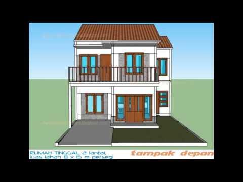 Contoh Denah Rumah Minimalis Tipe 36 Satu Lantai Terbaik
