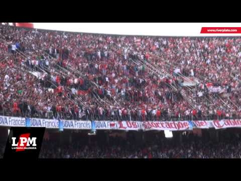 """""""Te alentaré hasta la muerte... - River vs Independiente - Torneo Final 2013"""" Barra: Los Borrachos del Tablón • Club: River Plate"""