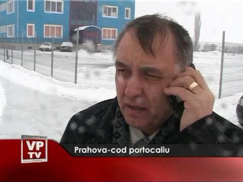 Prahova-cod portocaliu