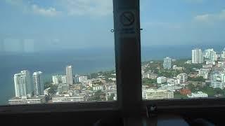 55 этаж башни. Отель Pattaya Park. Паттайя. Декабрь 2018 г.