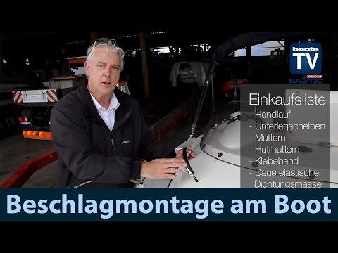 Beschlagmontage | Flaggenstockhalter | Handlauf Montage | Anleitung