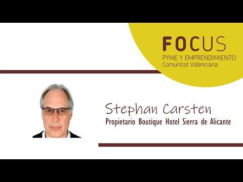 Entrevista Stephan Carsten en Focus Pyme y Emprendimiento L´Alacantí 2019