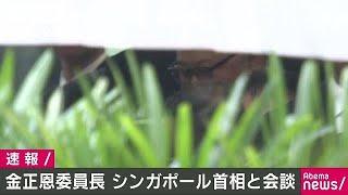 """金正恩委員長と与正氏シンガポールで""""始動""""18/06/10"""