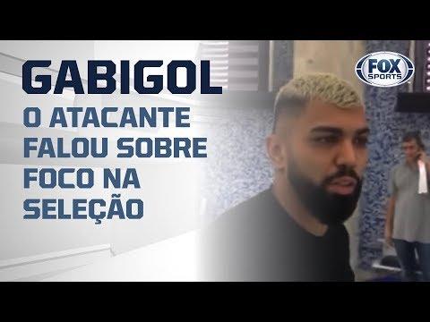 GABIGOL DESEMBARCA NO RIO E FALA COM OS CANAIS FOX SPORTS!