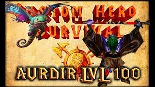 Warcraft 3   Custom Hero Survival 5.1   Untargetable Dragon   Aurdir lvl 100