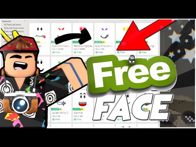 How To Get Free Faces On Roblox Mobile