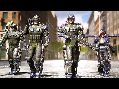 Earth Defense Force: Iron Rain Gameplay Trailer