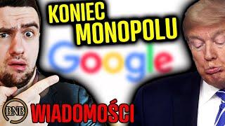 Dość CENZURY w sieci! Trump POZWAŁ Google | WIADOMOŚCI