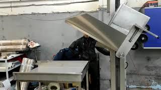 видео товара Столбовой мачтовый подъёмник-опрокидыватель стационарный