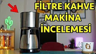 Filtre kahve makinası Melitta top enjoy inceleme