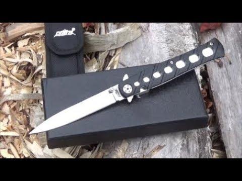 CIMA Swordfish Stiletto Folding Knife Review ($15)
