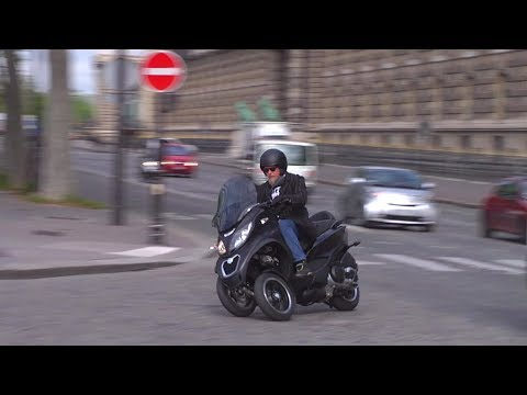 2014 Piaggio MP3 500 Sport ABS in Paris – Full review