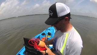 yakntexas ~ STRINGERS for kayak fishing. how to store you catch