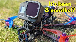 """Unintentional 8 month break from 5"""" FPV! // Hero 8 + ND"""