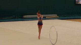 Левиева Мария (2005) - Обруч.  Levieva Maria (2005) - The hoop Rhythmic Gymnastics Competition