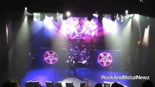 Anthrax Vocalist Joey Belladonna Attacked By Security - LA, California - Club Nokia