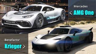 GTA V Benefactor & Ubermatcht vs Real life Mercedes & BMW