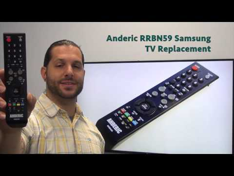 ANDERIC RRBN59 Samsung TV Remote Control