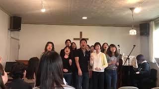 Gospel choir ``Noah's ark`` came to our church!!