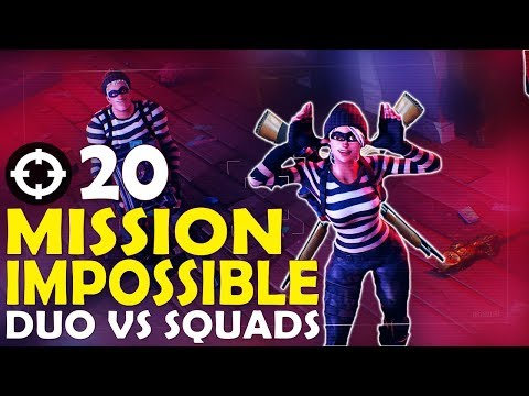 MISSION IMPOSSIBLE | 20 KILL CARRY | DUO VS SQUAD: BLITZ MODE | FUNNY GAME-(Fortnite Battle Royale)