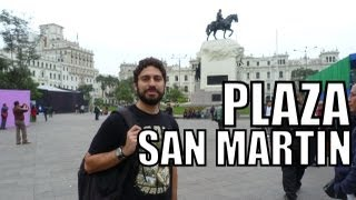 preview picture of video 'Living in Lima (Peru) #1: Plaza San Martin'