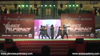 Dance Supremacy 2012 - CROSSOVER