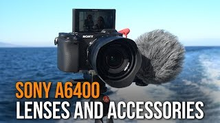Sony a6400 | RECOMMENDED LENSES & ACCESSORIES