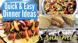 What to cook for dinner on a hot day