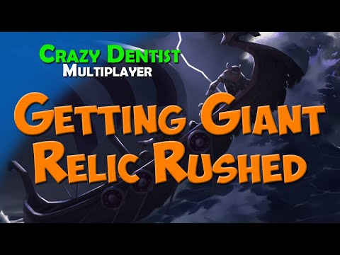 Getting Giant Relic Rushed | Wolf clan in 3v3 | Northgard