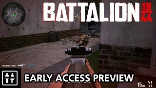 A Rough Start But Still Promising! Battalion 1944 - Early Access Preview