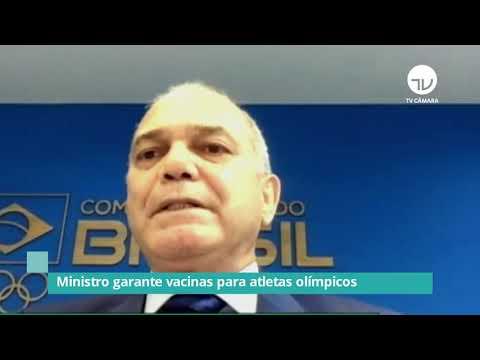 Ministro da Saúde garante vacina para atletas olímpicos - 12/05/21