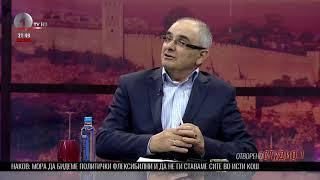 Отворено Студио 1 на 1ТВ - гостин Александар Наков (адвокат)
