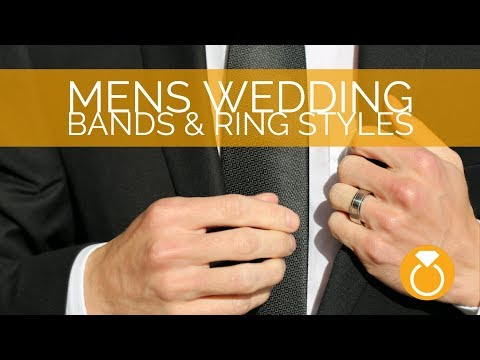 Mens Wedding Bands & Ring Styles