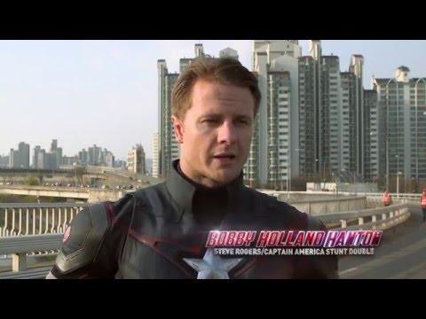 MARVEL 超級英雄的特技演員「Bobby Holland Hanton」